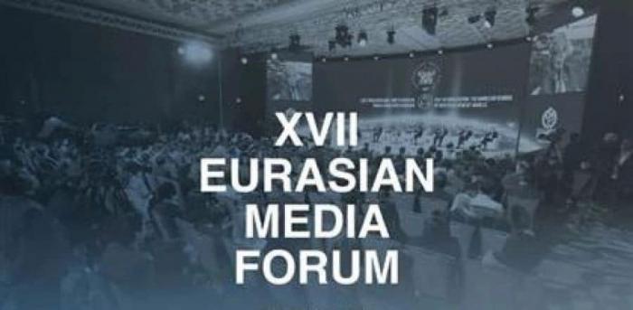 Qazaxıstanda XVII Avrasiya Media Forumu başlayıb