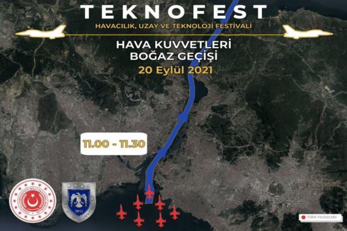 Türkiyə və Azərbaycan qırıcıları salamlama uçuşu keçirib -  YENİLƏNİB