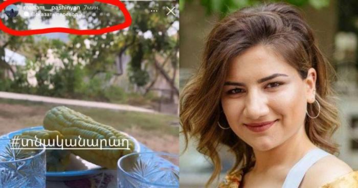 Paşinyanın qızı anım günü    əsgər    əvəzinə   araq   fotosu paylaşdı
