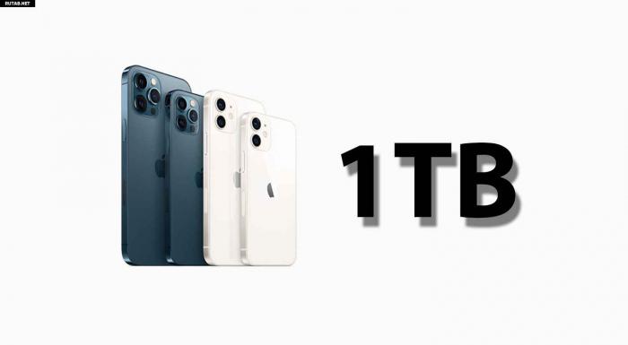 """1 terabayt yaddaşı olan yeni """"iPhone"""""""