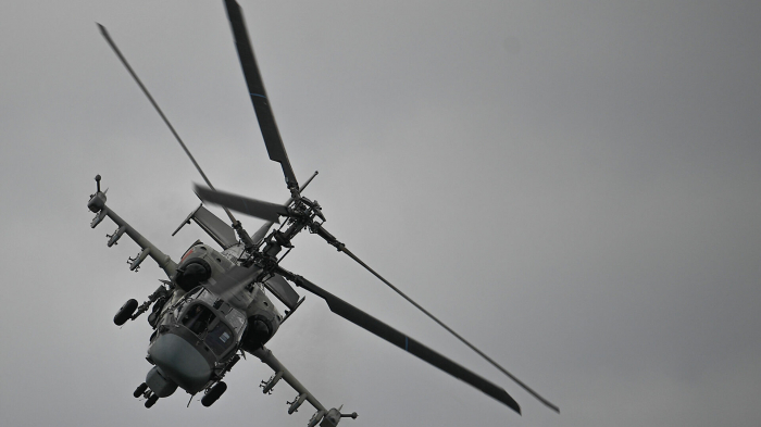 Rusiyaya məxsus helikopter qəzaya uğrayıb