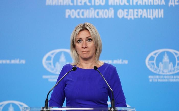 Zaxarova Kremlin siyasətindən kənara çıxa bilməz