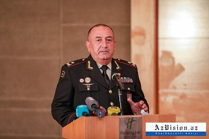 """General:    """"Azərbaycan Ordusu öz qəhrəmanlığı ilə tarix yazdı"""""""