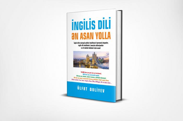 İngilis dilini müstəqil öyrənmək üçün unikal kitab