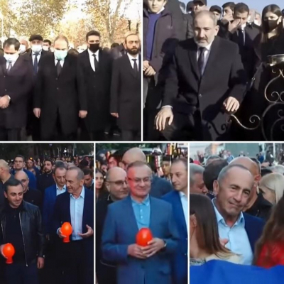 """""""Daşnaklar və Köçəryan Erablura şənlənərək getdilər"""" -   Baqdasaryan"""