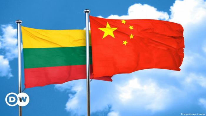 Litva Çin səfirini geri çağırıb