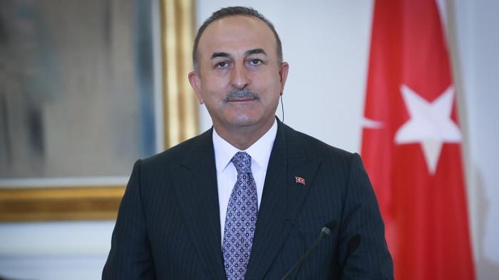 Cavusoglu a tweeté à propos du 103e anniversaire de la libération de Bakou