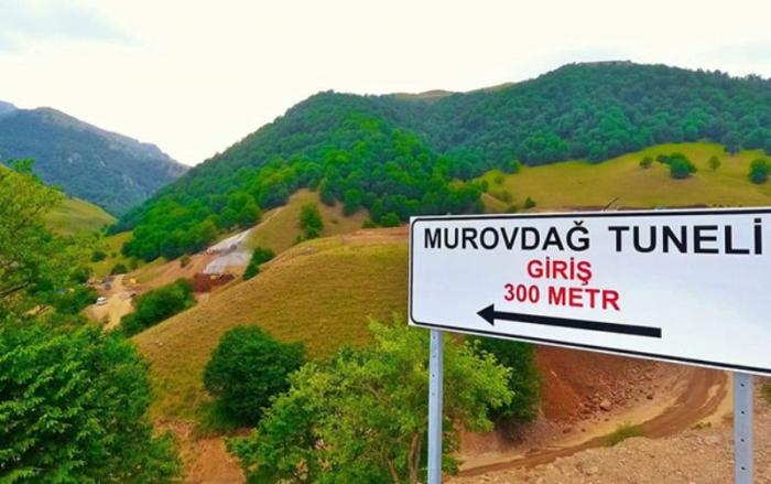 Murovdağ tuneli ilə bağlı rəsmi açıqlama