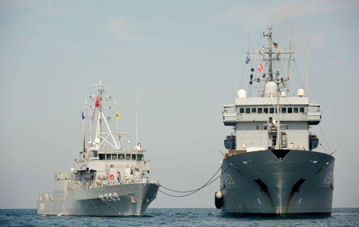 NATO-nun beş gəmisi Gürcüstan sularına daxil olub
