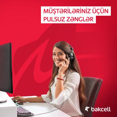 """""""Bakcell""""dən """"Pulsuz zəng"""" adlı yeni məhsul"""