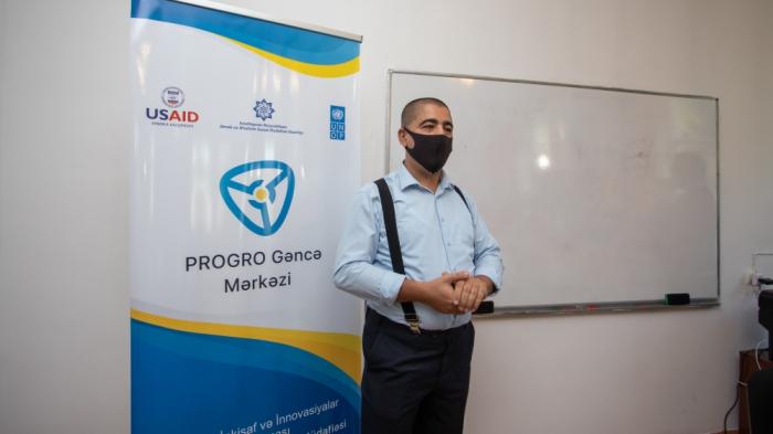 El Representante Residente del PNUD en Azerbaiyán visita Ganja