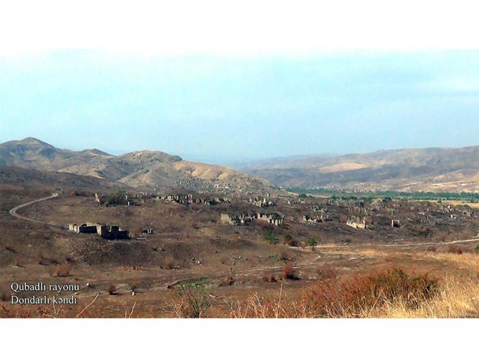 Qubadlının Dondarlı kəndi -    VİDEO