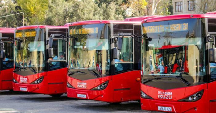 Avtobusların hərəkət sxemi dəyişdiriləcək-