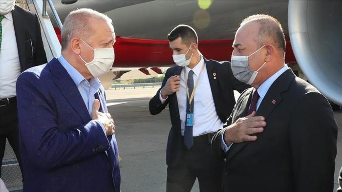 Le président turc Erdogan effectue une visite aux Etats-Unis pour assister à la 76ème Assemblée générale de l