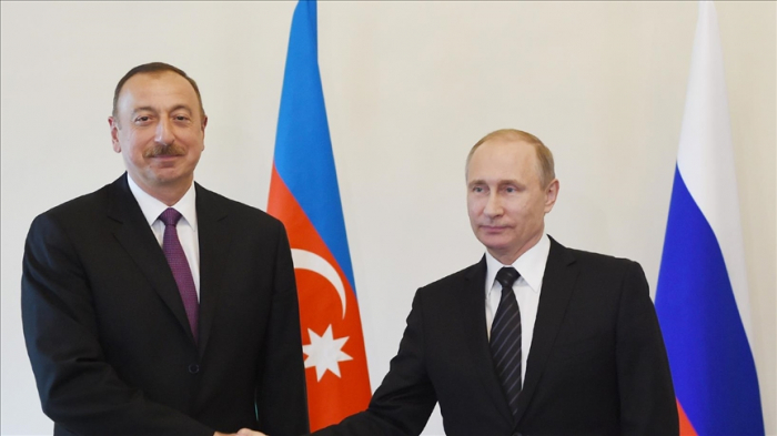 Le président azerbaïdjanais félicite son homologue russe pour la victoire de Russie unie aux élections