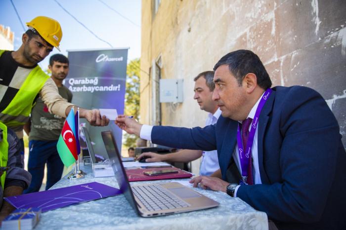 Azercell Mobil Müştəri Xidmətləri Şuşada -    Fotolar+Video