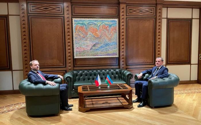 بدء اجتماع وزيري خارجية أذربيجان وجمهورية التشيك
