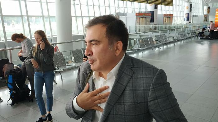 Mixeil Saakaşvili aclıq elan edib