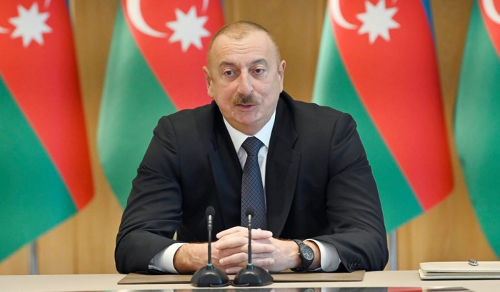 """Azərbaycan lideri:    """"Qonşumuz Ermənistanla əlaqələr qurmaq istəyirik"""""""
