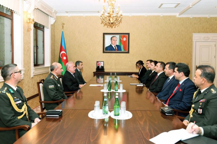 Chairman of Supreme Assembly of the Nakhchivan AR meets with delegation of Turkish Ministry of National Defense