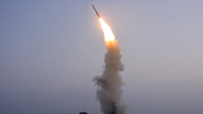 North Korea test-fires new anti-aircraft missile