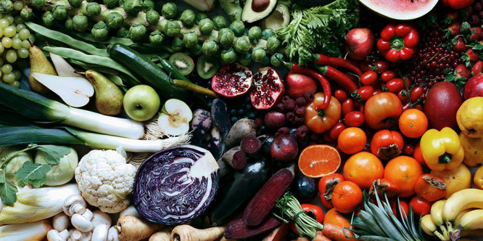 Why eating colourful food is good for you