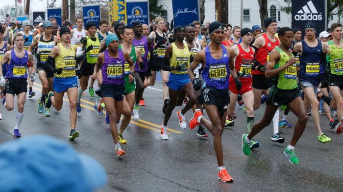 Why do people run marathons?
