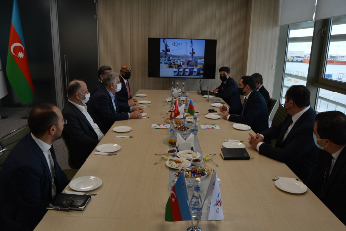 Turkish Albayrak Holding looks to establish cooperation with Port of Baku