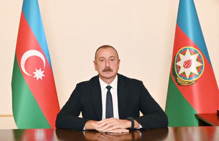 """""""Paşinyanla istənilən zaman danışmağa hazıram"""" -    Azərbaycan Prezidenti"""