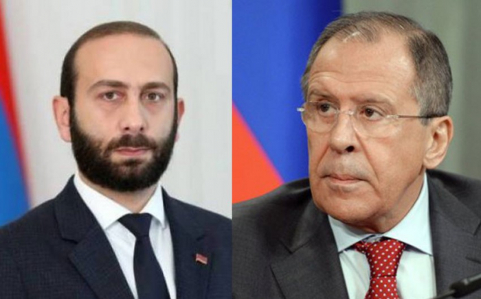 Lavrov discusses handover of mine maps to Azerbaijan with Armenian counterpart