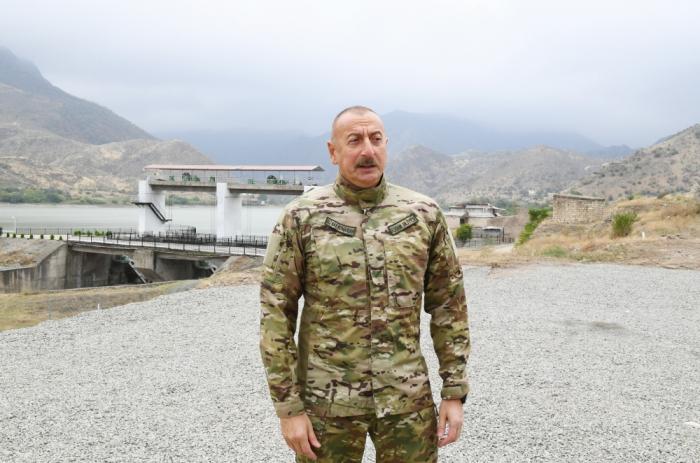 """Prezident:    """"Serjiki qulağından tutub vəzifələrə gətirən Köçaryan olub"""""""