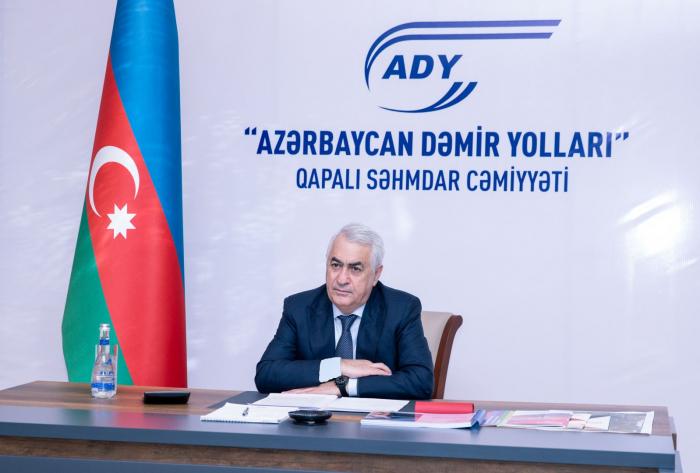 Azerbaijan Railways talks role of North-South corridor in trade turnover of participants