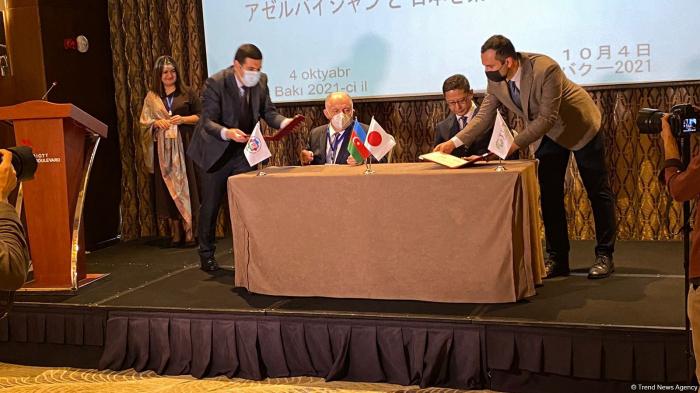 Japanese company, Azerbaijan Entrepreneurs Confederation ink cooperation memorandum