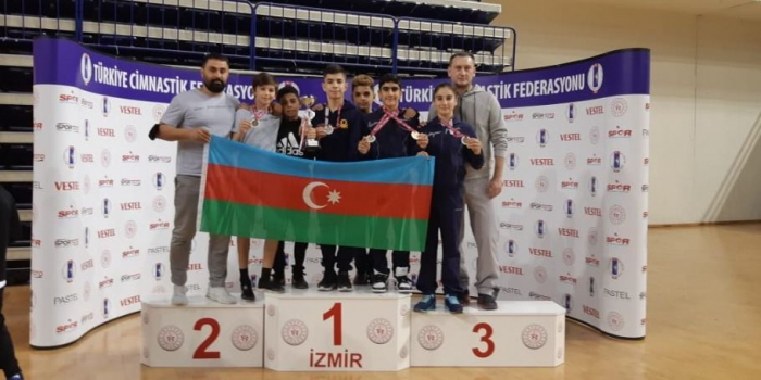 Azerbaijani gymnasts win gold, silver at competitions in Turkey