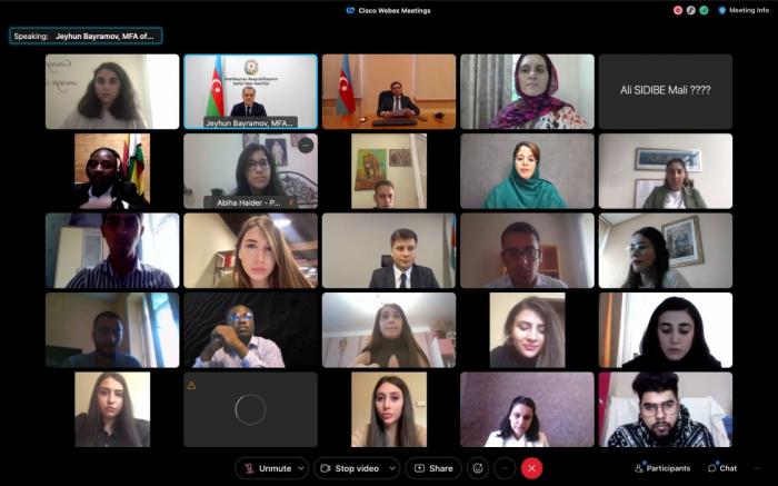 Inaugural meeting of NAM Youth Network held in Baku