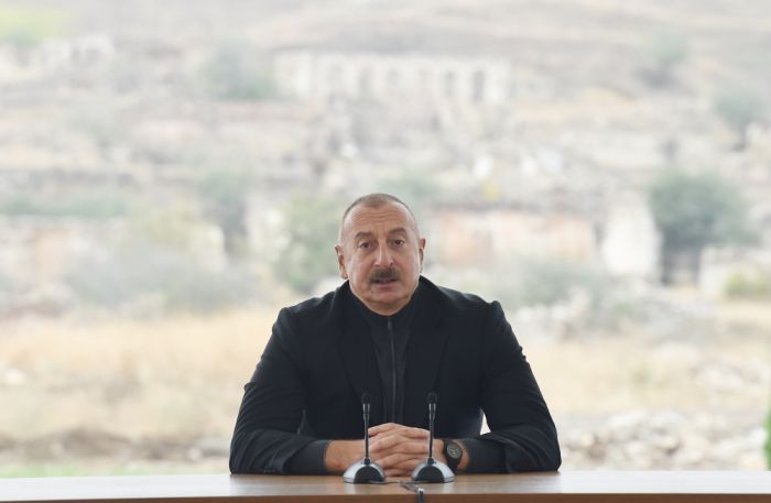 Some cannot accept new realities that emerged after war – Azerbaijani president