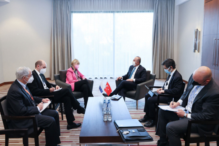 Turkish FM discussed Karabakh with OSCE Secretary General