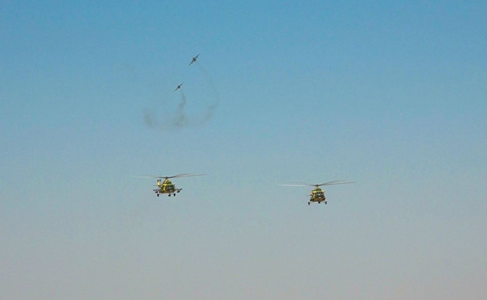 Practical activity held within Azerbaijani-Turkish military exercises in Nakhchivan -  VIDEO