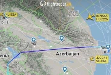 الخطوط الجوية الأذربيجانية تبدأ استخدام المجال الجوي عبر أراضي أرمينيا
