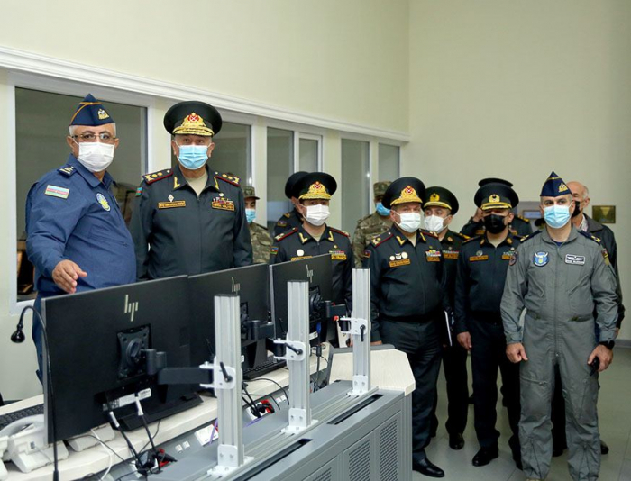 Azerbaijan developing work of Central Command Post and Satellite Communications Control Center