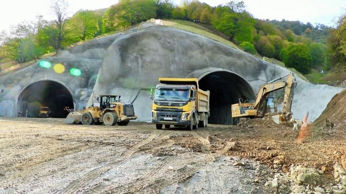 Construction of Toghanaly-Kalbajar road via Murovdagh ridge continues