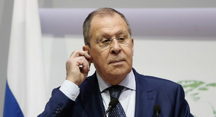 """Russian FM discusses""""3+ 3"""" cooperation format with his Iranian counterpart"""