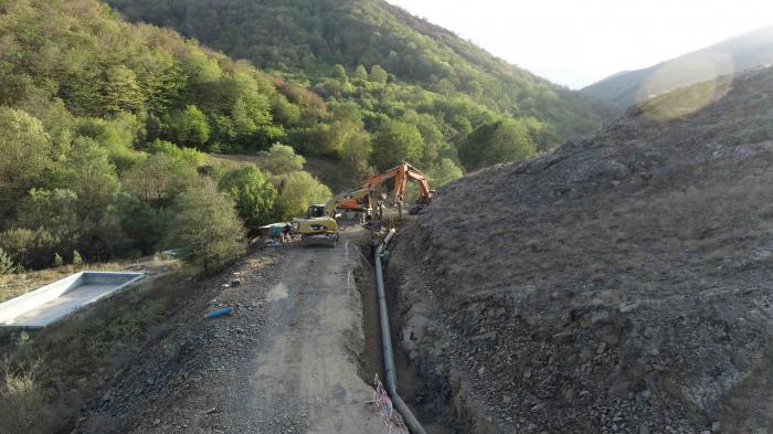Azerbaijan working on sustainable water supply in Shusha city