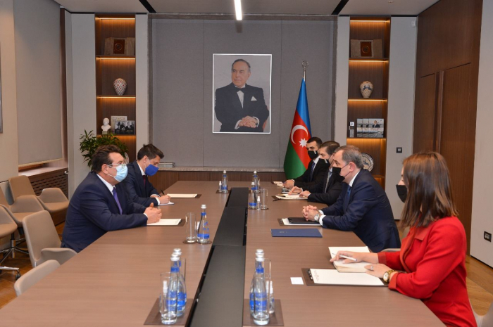 Azerbaijani FM receives credentials of newly-appointed ambassador of Romania