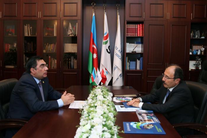 Turkish Ambassador to Azerbaijan visits BHOS