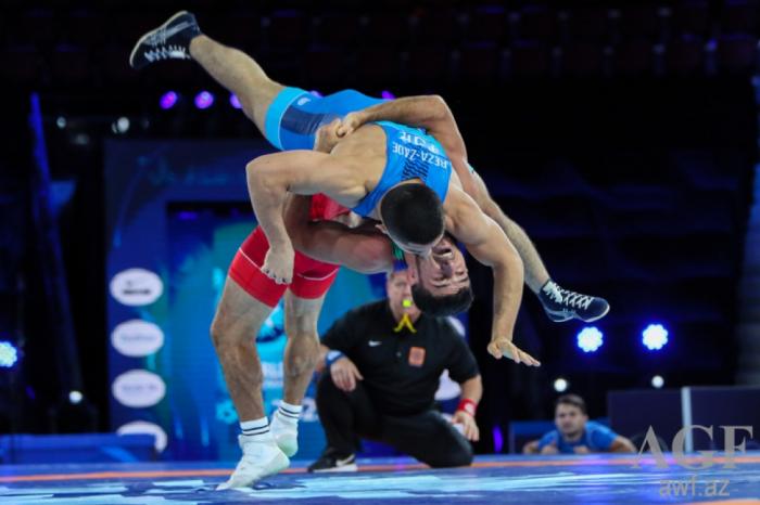 Azerbaijani Greco-Roman wrestler crowned world champion
