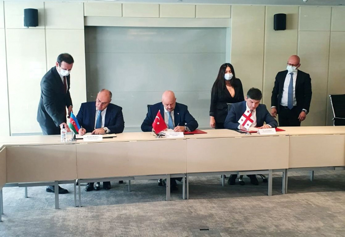 Azerbaijan, Georgia, Turkey sign protocol on creation of joint committee on customs issues
