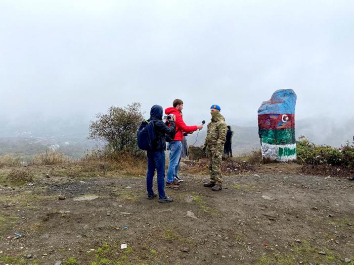 Aserbaidschanisches Verteidigungsministerium organisiert Medientour nach Füzuli, Chodschavand -   FOTOS