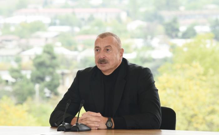 """Prezident:    """"Hadrut əməliyyatı ilə gücümüzü Ermənistana və dünyaya göstərdik"""""""