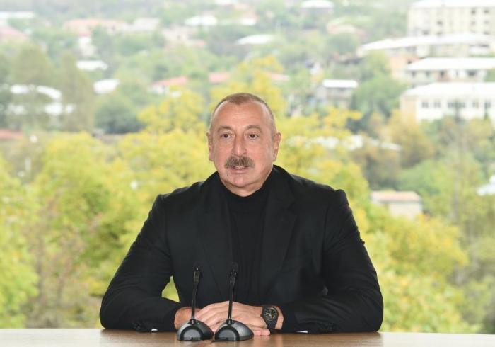 Präsident Aliyev:   Neue Ära von Hadrut und Karabach im Allgemeinen beginnt